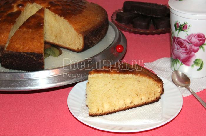 как приготовить торт проще простого