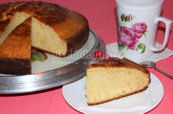 рецепт торта по простому