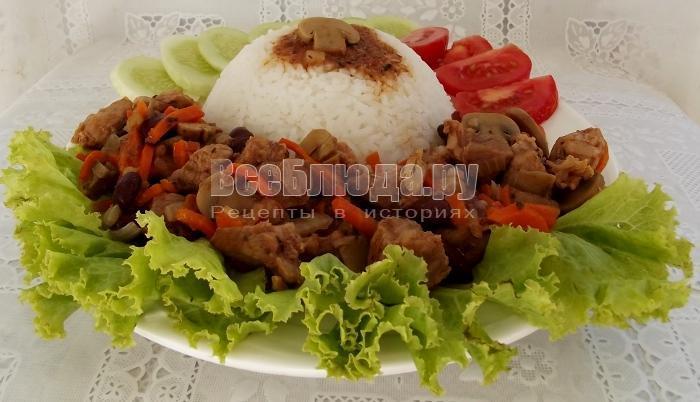 рецепт мяса в горшочках с фото