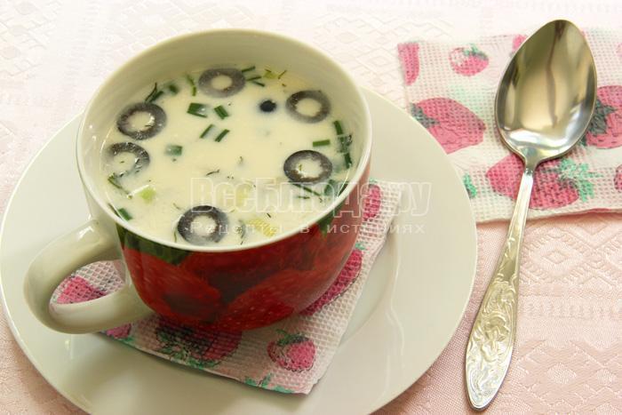 готовый пшенный суп