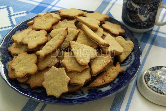 рецепт печенья фигурками