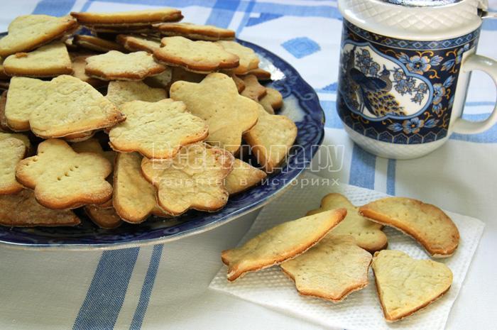 домашнее фигурное печенье своими руками