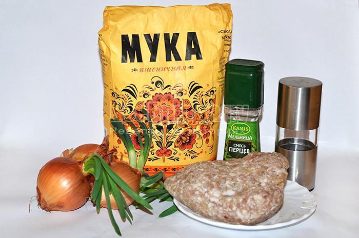 чебуреки с фаршем рецепт с фото пошаговый