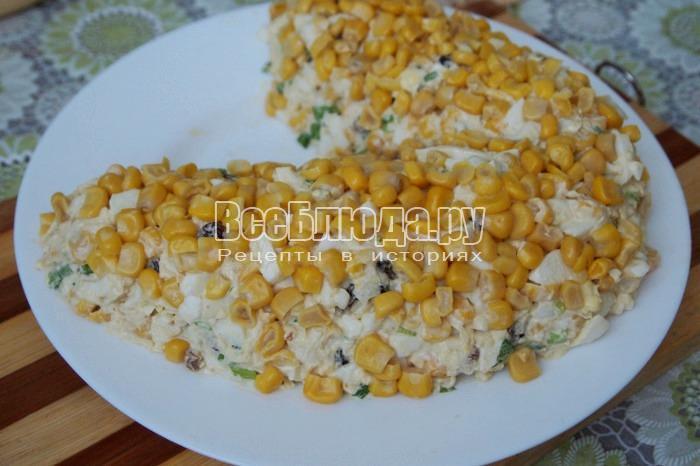 украсить кукурузой