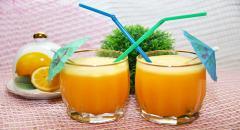 Рецепт сока из апельсинов и лимонов