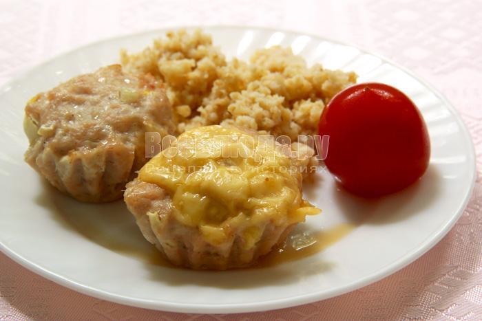 Рецепт куриного суфле в духовке