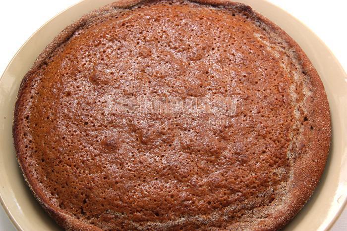 Рецепт манника с вареньем (сладкий, вкусный, тягучий)