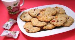 Печенье Мюсли со свежими ягодами