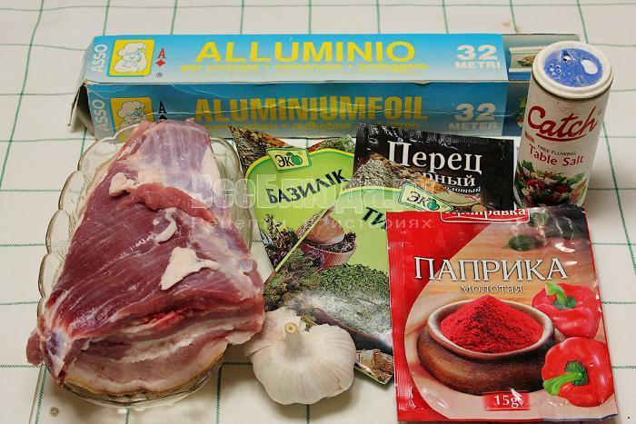 ингредиенты для приготовления подчеревка