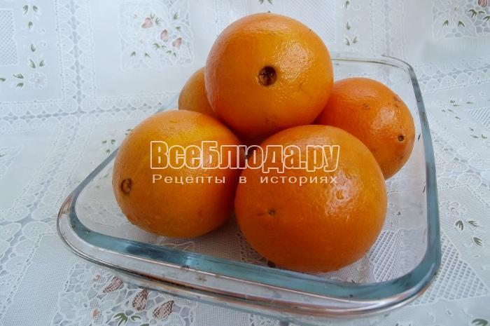 моем апельсины