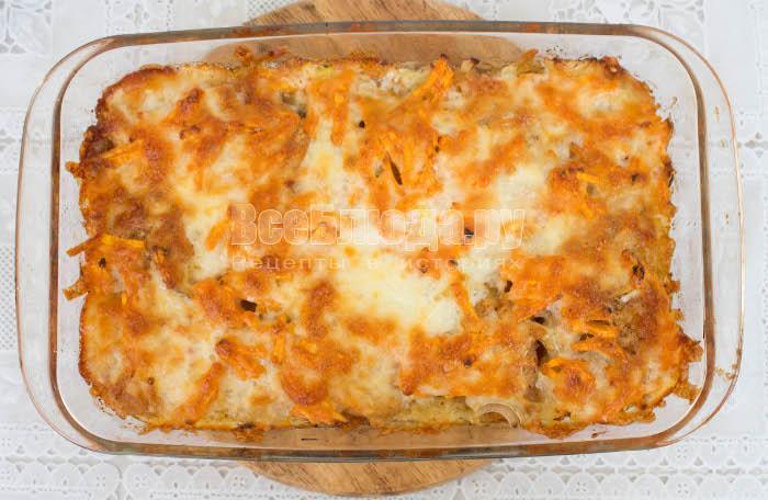 Рецепт пангасиуса, запеченного в духовке с сыром