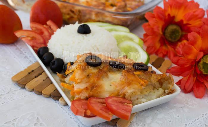 рецепт пангасиуса с сыром в духовке
