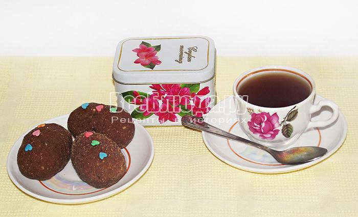 пирожное картошка к чаю