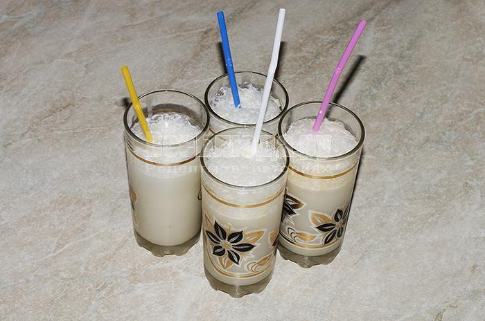 рецепт молочного коктейля без блендера
