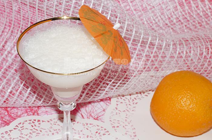 Молочный коктейль в домашних условиях с апельсинами и мороженным