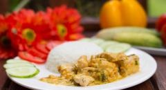 Куриное филе жареное в сливках на сковороде