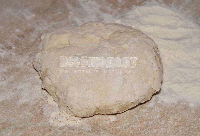 приготовленное тесто