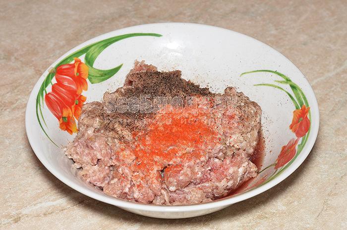 добавьте красный молотый перец