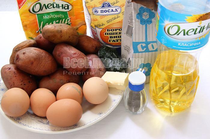 продукты для зраз из картошки