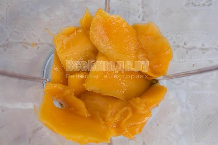 Молоко с манго - вкусный полезный коктейль в блендере