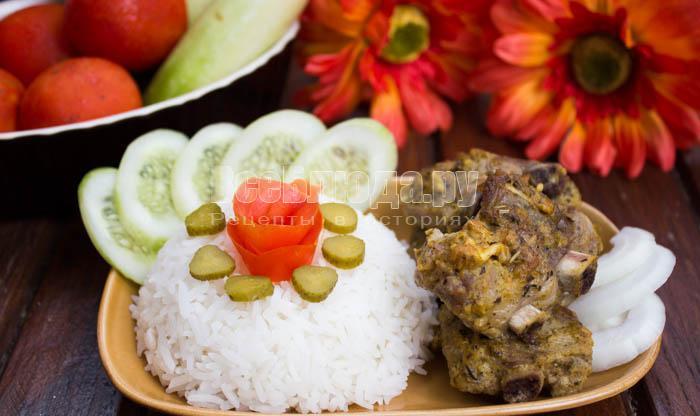 Свиные ребрышки в горчичном соусе (маринаде)
