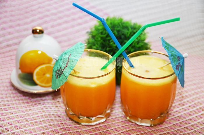 готовый сок с апельсинами
