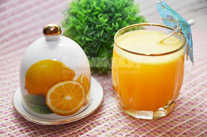 как приготовить вкусный апельсиново-лимонный сок