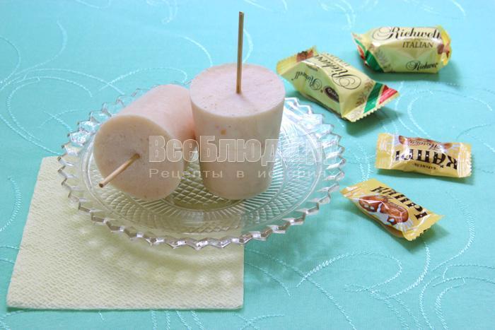 готовое мороженое из творога