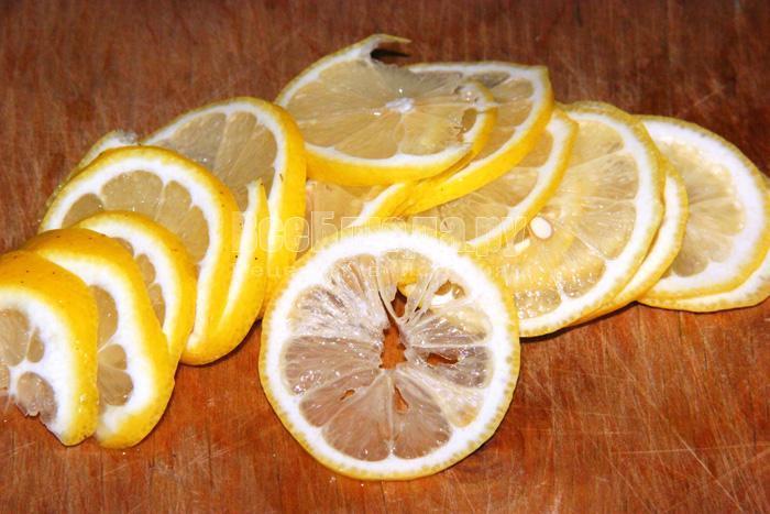 режу лимон