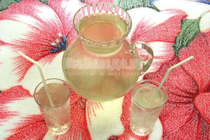 готовый напиток с имбирем