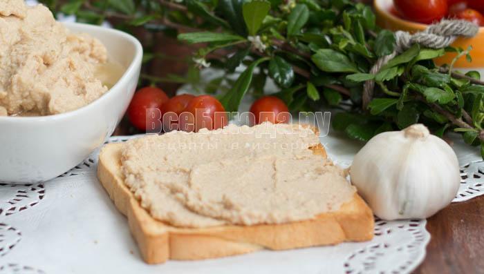 Рецепт паштета из консервированного тунца