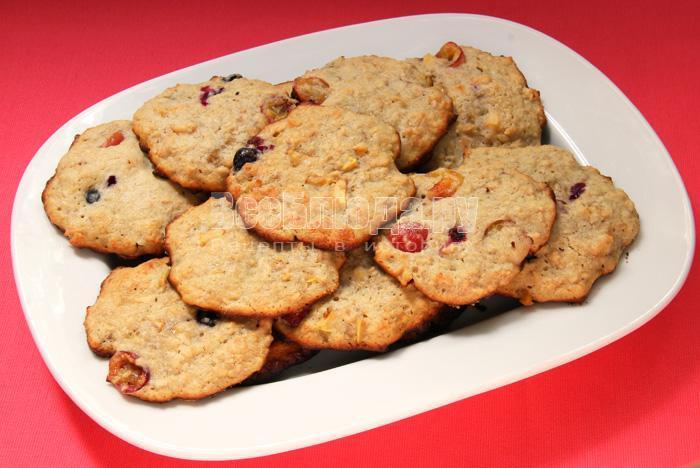 готовое печенье из мюсли