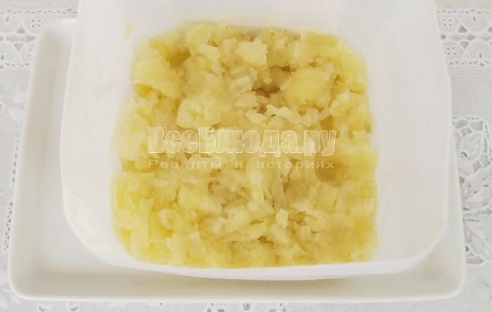 первый слой картошка