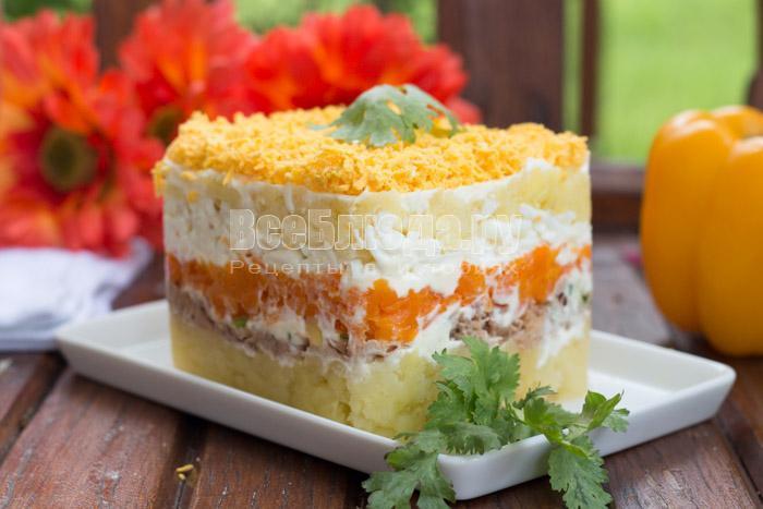Рецепт салата Мимоза - секреты приготовления