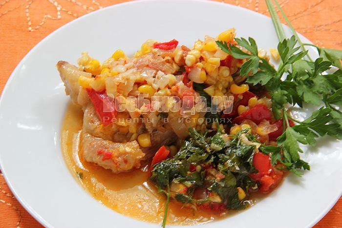 рецепт курицы по мексикански