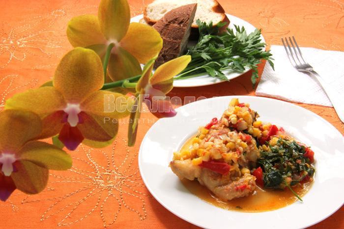 мексиканский рецепт приготовления курицы