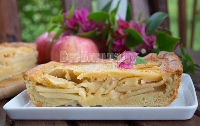 вкусный пирог по цветаевскому рецепту с фото