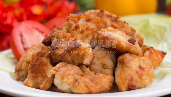 куриное филе в соде