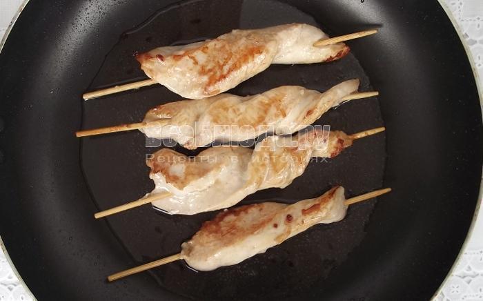 пожарить куриное филе