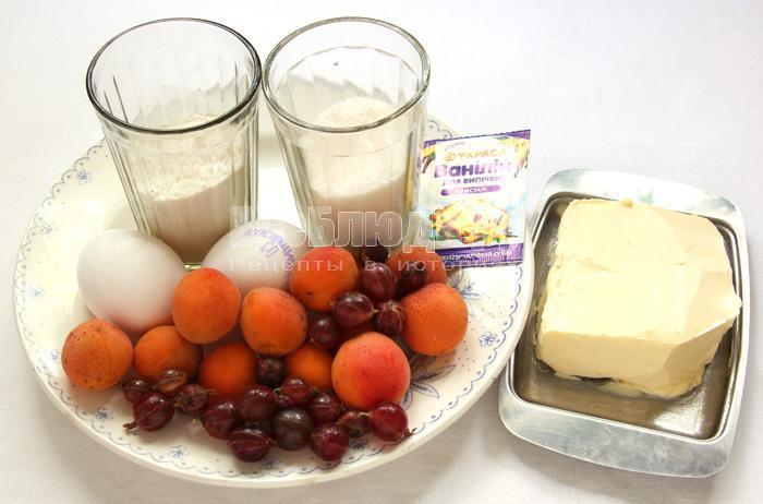 продукты для печенья каллы