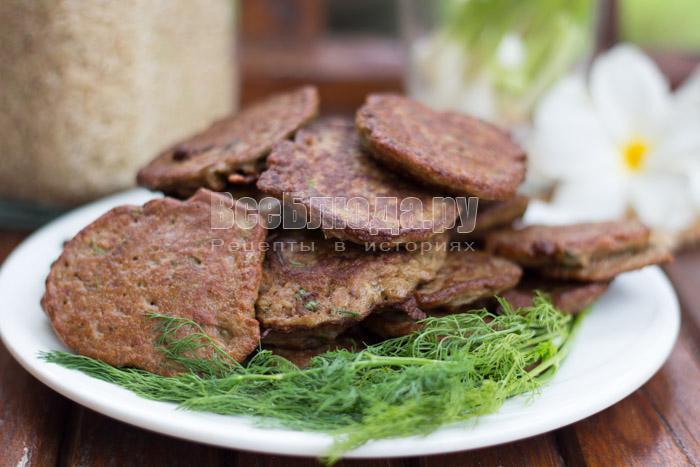 рецепт приготовления печеночных оладий