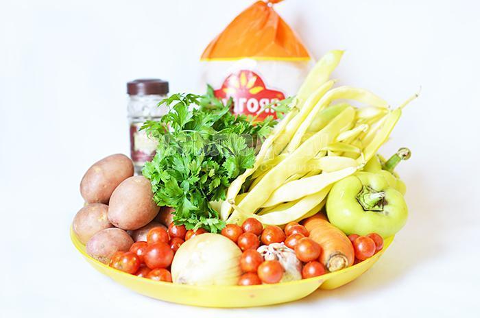 необходимые ингредиенты для белого соуса: