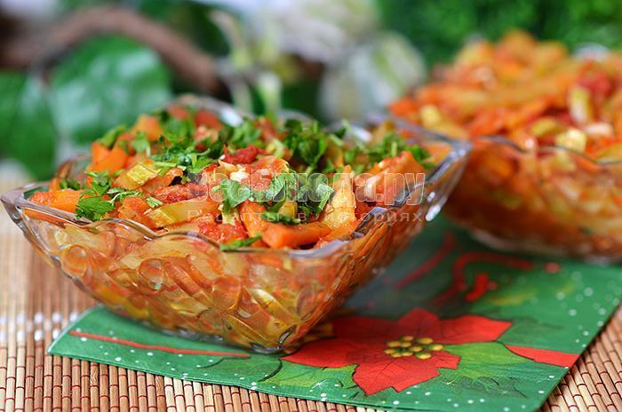 вкусный рецепт овощного рагу с фото
