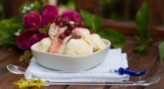 Диетическое мороженое в домашних условиях (на молоке)