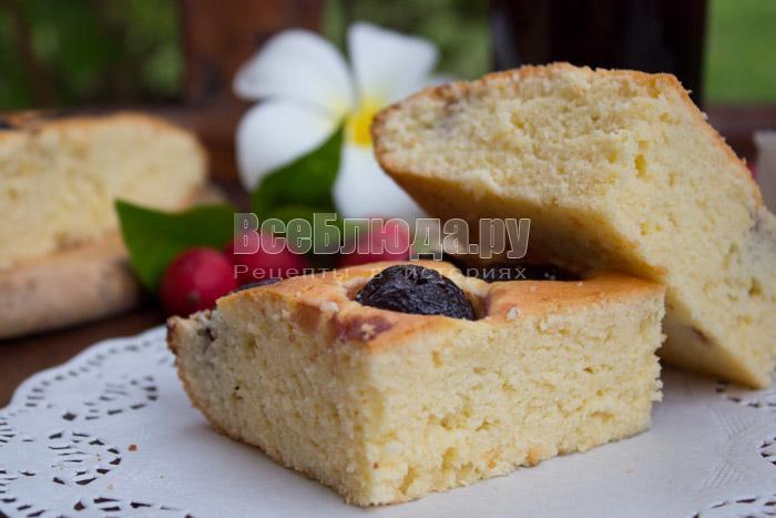 рецепт простого пирога с фото