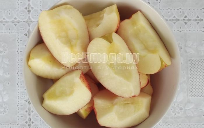 ингредиенты для яблочного мусса