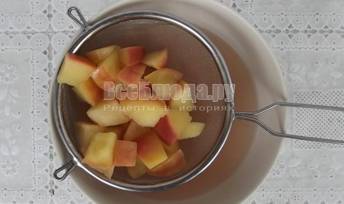 Рецепт яблочного мусса на скорую руку