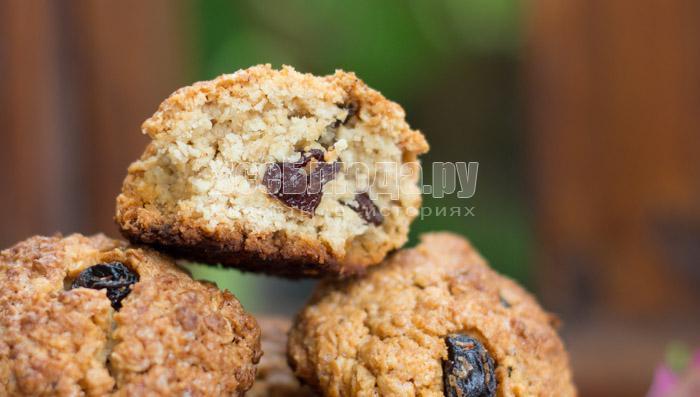 как приготовить овсяное печенье рецепт с фото