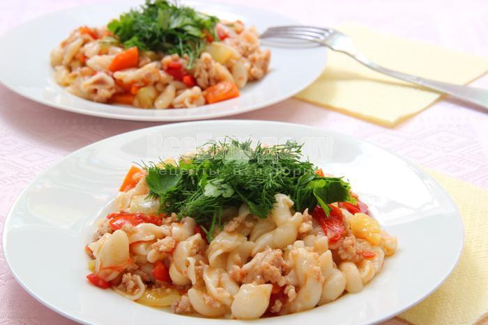 как приготовить макароны по-флотски рецепт с фото