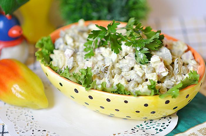 рецепт вкусного салата оливье